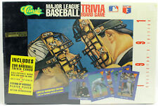 Collector's Ed Classic Baseball MLB Trivia Board Game Limited Numbered 1991