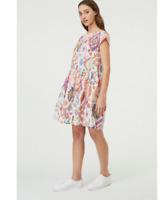🥑🥒🍆 New Gorman Azul Beach Cotton Lurex Beach Dress Size L  12/14 🥑🥒🍆