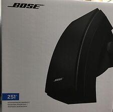Bose 251 Outdoor Speakers Black