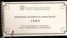 Repubblica 1983 Anno Santo libretto commemorativo delle Poste N1072