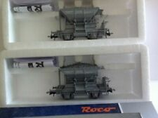 Vagones de mercancías de escala H0 para modelismo ferroviario