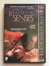 In The Realm of the Senses (DVD, World Class Cinema) Fox Lorber LIKE NEW NC-17