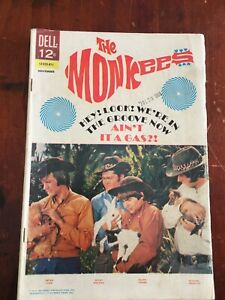 THE MONKEES   No 16 BY DELL PUBLICATIONS FINE  (6.0) 1968