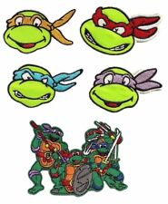 Teenage Mutant Ninja Turtles Embroidered Set of 5 Patches
