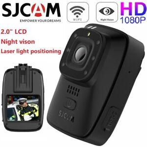 "SJCAM A10 2.0"" HD 1080P Body Camera Laser Infrared Security Night Vision Camera"