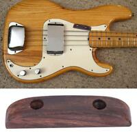New Rosewood Thumb Rest Tug Bar Finger Pull for Precision Bass Guitar Accessory
