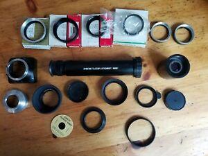 LOT: Tiffen Adapter Rings 6 7 spiratone telescope accura series VI 2x converter