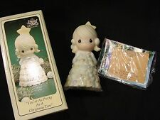 Precious Moments You're As Pretty As A Christmas Tree 1994 Figurine 604216 MIB
