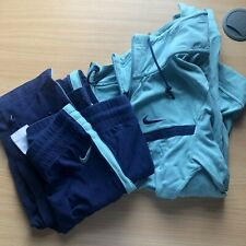 Nike Ladies Tracksuit Size XS-S Light/Dark Blue