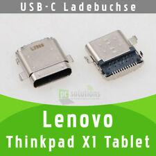 ✅ Lenovo Thinkpad X1 Tablet USB-C Buchse Ladebuchse DC Socket Port Connector