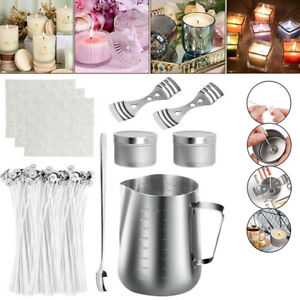 Candle Making Kits DIY Candles Craft Tool Candle Wicks Wax Make Pouring Pot Gift