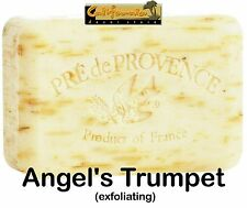 Pre de Provence French Soap ANGEL'S TRUMPET 250 gram XL Bath Shower Bar Shea