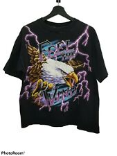 Vintage American Thunder Feel The Wind Shirt Size L