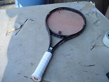 Wilson Pro Staff 4.5 si  Tennis Racquet 4 5/8 w Pro Overwrap Dupont Kevlar 20%