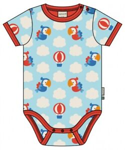 Maxomorra sS Baby Body in Parrot Safari design - Size 74/80cm (9-12 months)