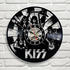 KISS_Exclusive wall clock made of vinyl record_GIFT