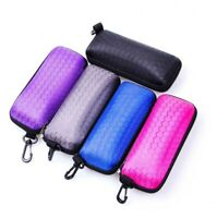 Glasses Case Portable Protective Sunglasses Hard Rectangle Zipper Protector Box