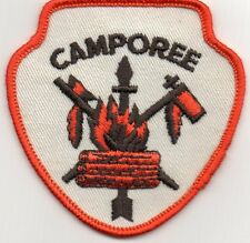 BSA PATCH,ARROW HEAD DESIGN CAMPOREE PATCH-ARROW,CAMPFIRE,PEACE PIPES 3""
