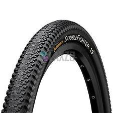 1 x Continental Double Fighter III Mountain Bike Rigid Tyre in Black 26 x 1.9