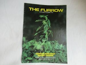 1996 John Deere Furrow magazine brochure Nov-Dec issue