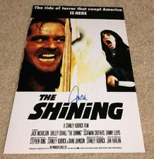 Jack Nicholson Signed The Shining 12X18 Photo Poster Stephen King Book