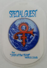 ** PRINCE ** SPECIAL GUEST LAMINATED BACKSTAGE PASS 1997 & 1998 World Tour MINT