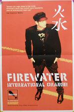 FIREWATER POSTER, INTERNATIONAL ORANGE (A12)