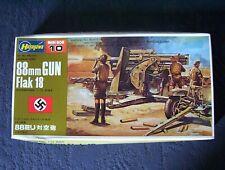 Hasegawa 1/72 scale 88mm Gun FLAK 18. model kit.[still sealed]