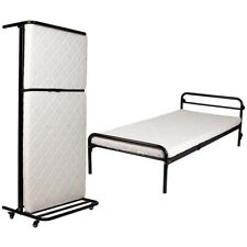 Slimline Upright Rollaway Portable Bed and Mattress