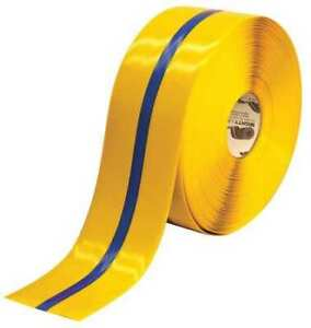 Mighty Line 4Rybctr Marking Tape,Roll,4In W,100 Ft. L