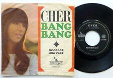 CHER 45 Bang Bang / Needles and Pins LIBERTY pop beat 1966 ITALY press PIC c2890