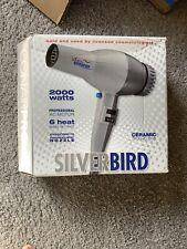 Conair Pro Silver Bird Hair Dryer SB307W Brand New Slightly Damaged Box