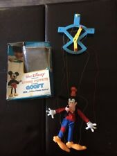 Vintage Walt Disney Goofy String Puppet with box - Collector's Item