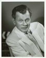 JOSEPH COTTEN PORTRAIT SAINTS AND SINNERS ORIGINAL 1963 NBC TV PHOTO