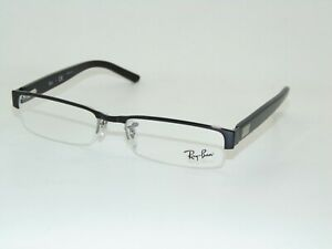 Ray Ban RB 6182 2502 Shiny Black 53mm RX Authentic Eyeglasses