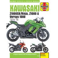 Kawasaki Z1000 Z1000SX Versys 2010-16 Haynes Workshop Manual