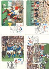 TARJETA MAXIMA ESPAÑA 82 FUTBOL EDIFIL 2660/63  MAXIMUM CARD    TC11895