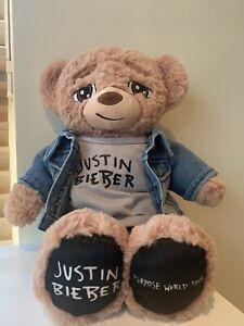 Justin Bieber Build A Bear Limited Edition Purpose Tour Bear