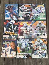 Emmitt Smith Sports Illustrated Lot of 9. Dallas Cowboys