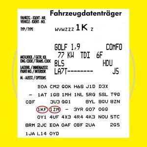 Bremsen vorn + hinten SKODA Octavia 1Z Combi VW Golf 5 Variant Bremsscheiben
