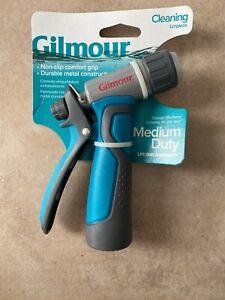 Gilmour 301GCR Medium-Duty Metal Rear Trigger Nozzle, Adjustable Tip