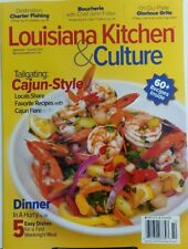 Louisiana Kitchen & Culture Sep Oct 2017 Tailgating Cajun Style FREE SHIPPING sb
