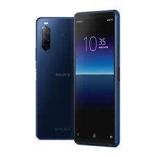 Sony Xperia 10 II XQ-AU52 Dual 4GB RAM 128GB Blue ship from EU veloce
