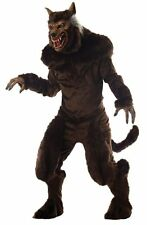 Halloween LifeSize DELUXE ADULT WEREWOLF MEN COSTUME WITH MASK Haunted House NEW