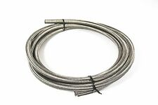 """AN4 4.8mm 3/16"""" Stainless Steel Braided Fuel Oil Cooler Hose 1/2m Free Delivery"""