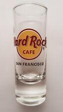 SAN FRANCISCO Hard Rock Cafe Schnaps Glas, USA HRC shot glass