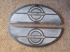 Harley Davidson Floor Board Rubber Mats 1940 and Later All Models Black