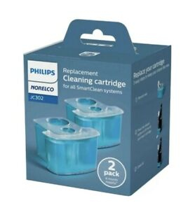 Philips Norelco JC302 Replacement Cleaning Cartridges 2 Pack