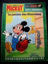 Le journal de Mickey N° 1272 du 11 /1976 -Walt Disney Edi-Monde