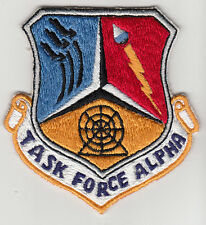 Wartime Task Force Alpha Patch / Insignia